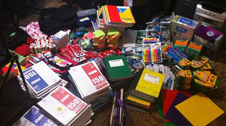 Sojourn Shelter School Supply Drive